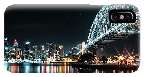 Sydney Harbour Sparkle IPhone Case