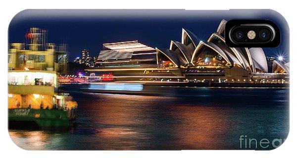 Sydney Night Life IPhone Case