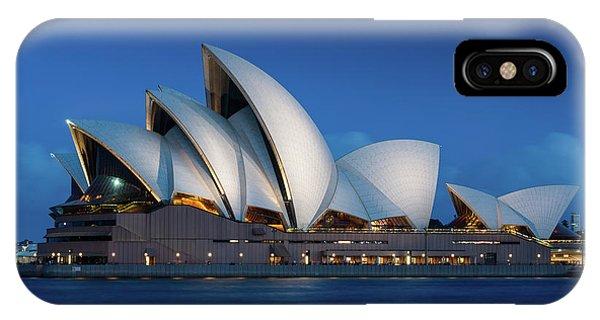 Sydney Opera House After Dark IPhone Case