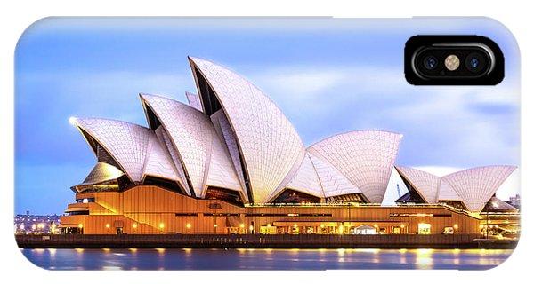 Sydney Opera House At Dawn IPhone Case