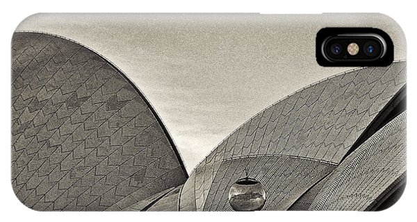 Sydney Opera House Roof Detail IPhone Case