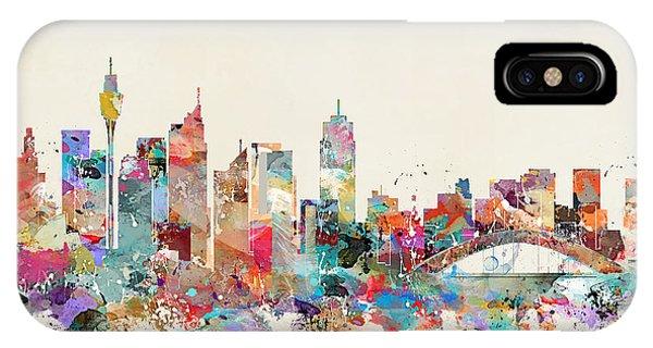 Sydney Skyline Australia IPhone Case
