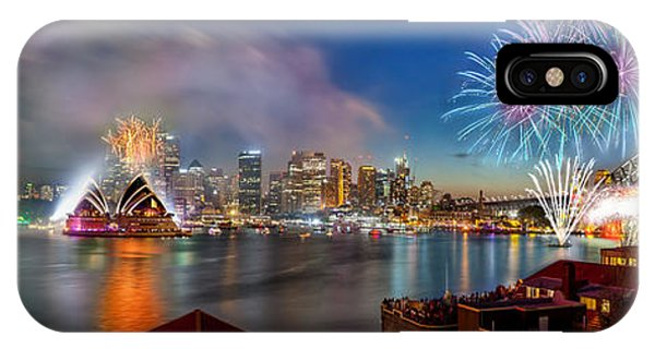 IPhone Case featuring the photograph Sydney Sparkles by Az Jackson