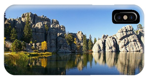 Sylvan Lake, Custer South Dakota IPhone Case