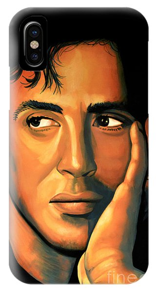 Steps iPhone Case - Sylvester Stallone by Paul Meijering