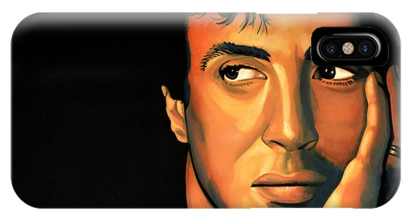 Reach iPhone Case - Sylvester Stallone by Paul Meijering