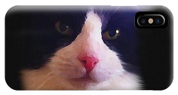 Sylvester Tuxedo Cat IPhone Case