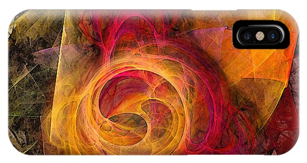 Symbiosis Abstract Art IPhone Case