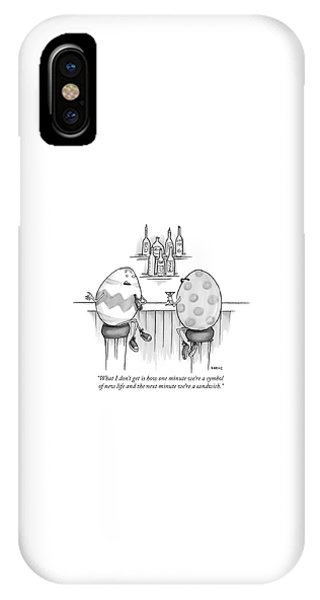 Symbol Of New Life IPhone Case