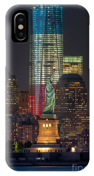 Symbols Of Freedom II IPhone Case