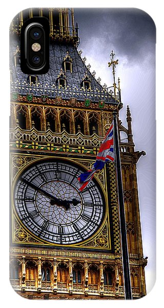 Symbols Of London IPhone Case