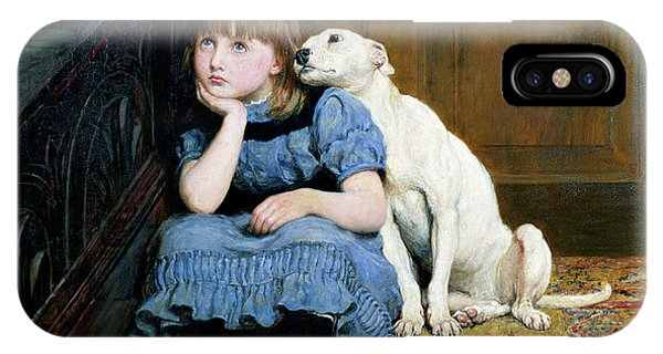 Oil iPhone Case - Sympathy by Briton Riviere
