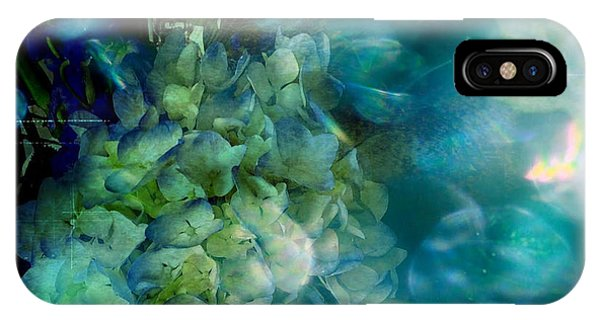 Symphony In Blue IPhone Case
