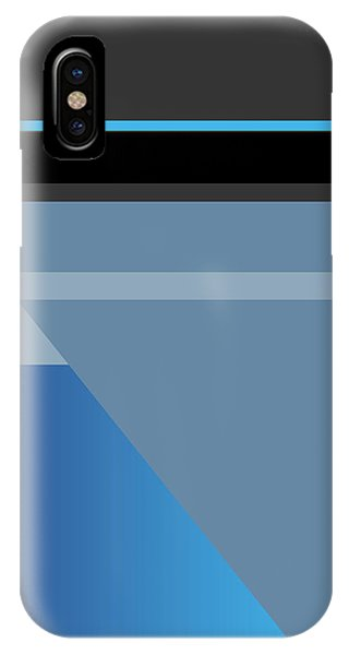 Symphony In Blue - Movement 1 - 1 IPhone Case