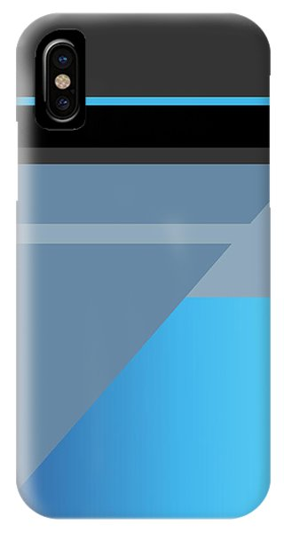 Symphony In Blue - Movement 1 - 3 IPhone Case