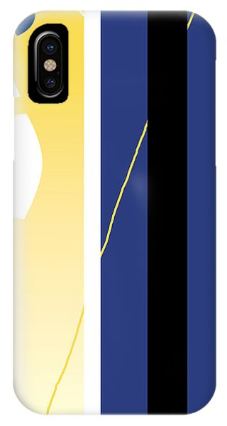 Symphony In Blue - Movement 2 - 1 IPhone Case