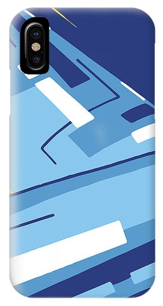 Symphony In Blue - Movement 4 - 1 IPhone Case
