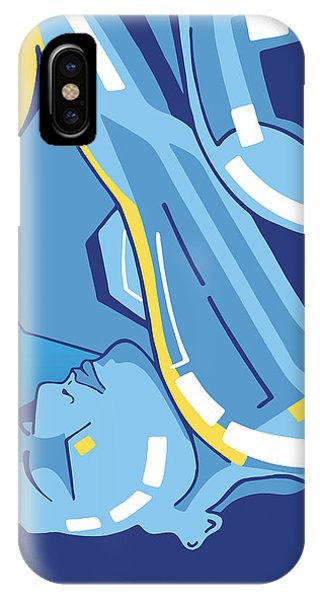 Symphony In Blue - Movement 4 - 2 IPhone Case