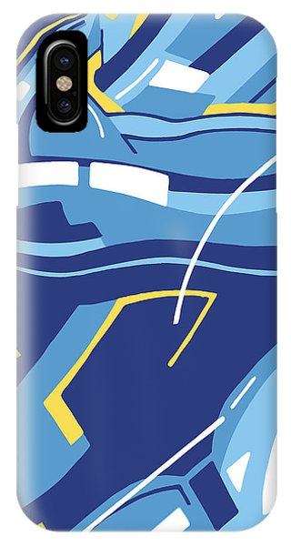Symphony In Blue - Movement 4 - 3 IPhone Case