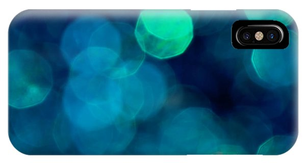 Teal iPhone Case - Symphony by Jan Bickerton