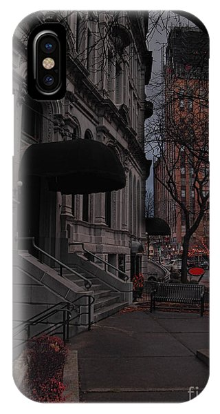 Syracuse At Night Phone Case by Debra Millet