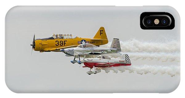 T-6 Texan   Rv-8   Dr-107 IPhone Case