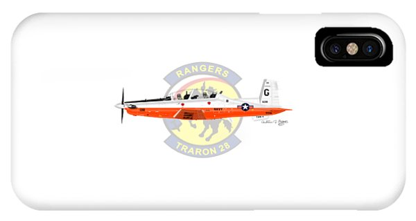 T-6b Texan II Vt28 IPhone Case
