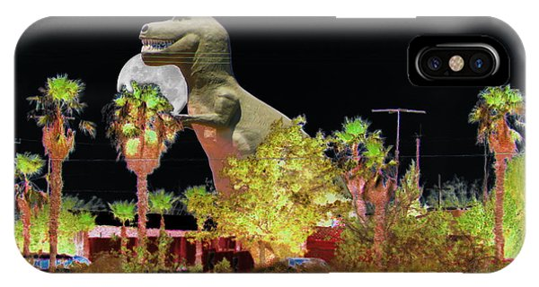 T-rex In The Desert Night IPhone Case