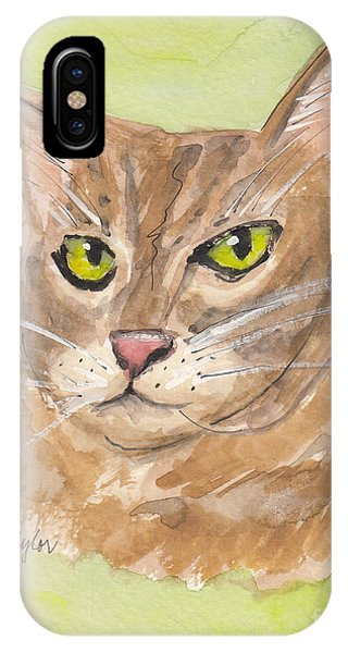 Tabby With Attitude IPhone Case