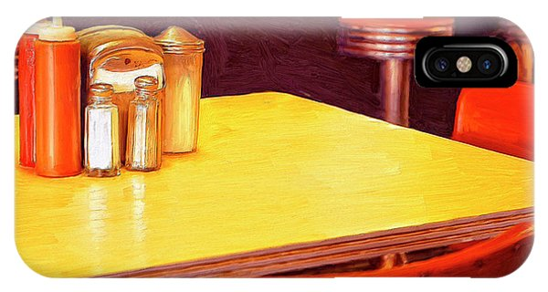 Table For Two iPhone Case - Table For Two by Dominic Piperata