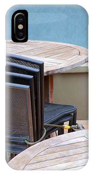 Tables And Chairs IPhone Case