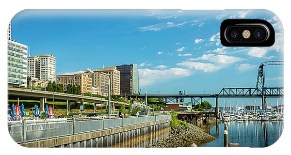 Tacoma And 11th Street Bridge IPhone Case