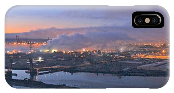 Tacoma Dawn Panorama IPhone Case
