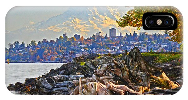 Tacoma In The Fall IPhone Case
