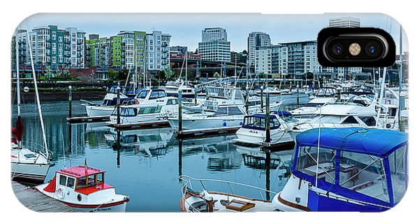 Tacoma Waterfront Marina,washington IPhone Case