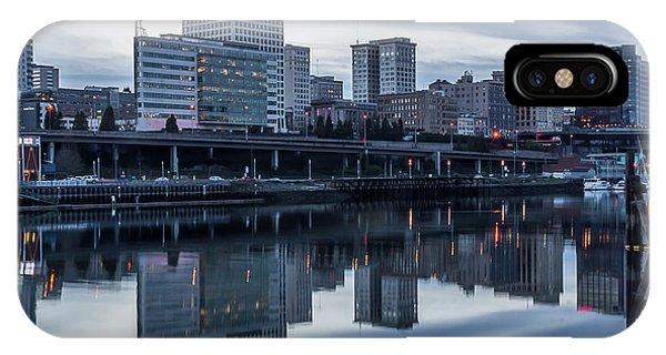 Tacoma Waterfront,washington IPhone Case