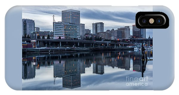 Tacoma Waterfront,washington IPhone Case