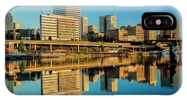 Tacoma's Waterfront,washington IPhone Case