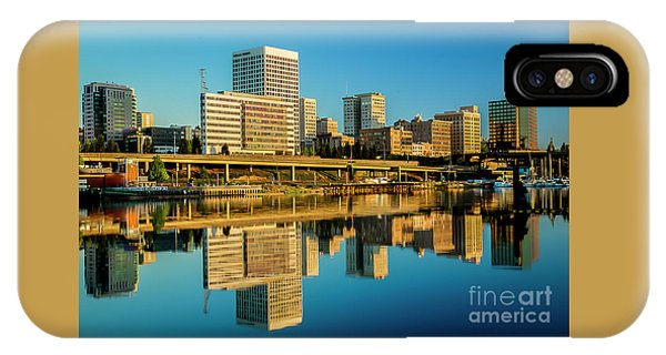Tacoma's Waterfront,washington IPhone Case