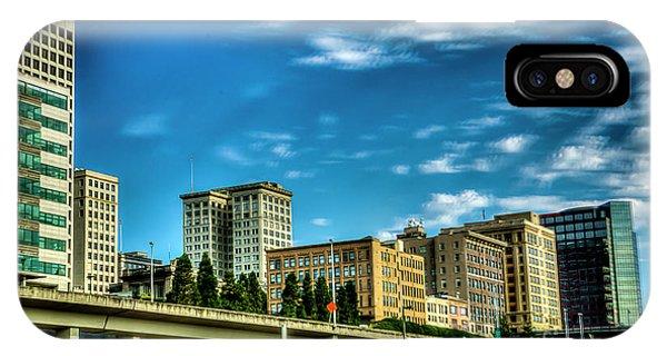 Tacoma,washington.hdr IPhone Case