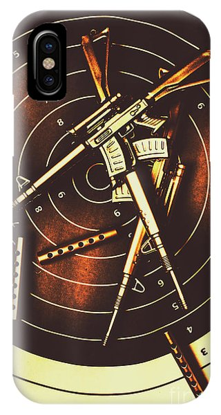 Hit iPhone Case - Tactical Army Range by Jorgo Photography - Wall Art Gallery
