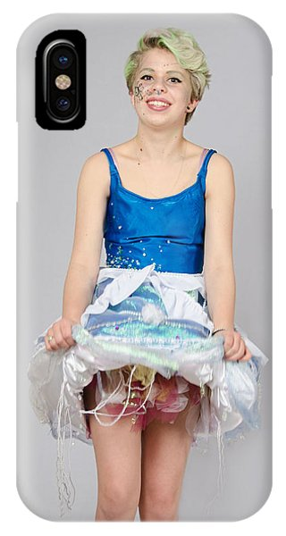 Taetyn In Jelly Fish Dress IPhone Case
