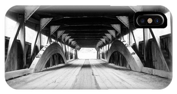 Taftsville Covered Bridge IPhone Case