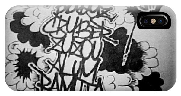 iPhone Case - Tagging by Zyzou Fukuno Daisuke