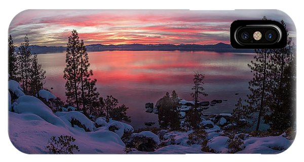 Tahhhhhoe Sunset IPhone Case
