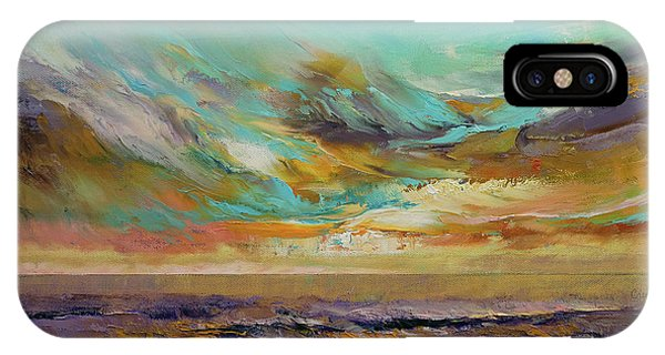 French Artist iPhone Case - Tahiti Sunset by Michael Creese