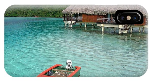 Tahitian Boat IPhone Case