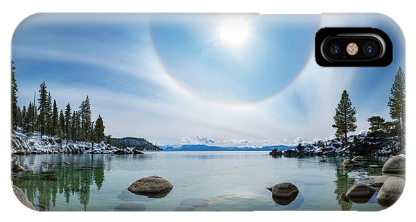 Tahoe Halo By Brad Scott IPhone Case
