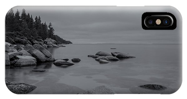 Tahoe In Black And White IPhone Case