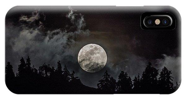 Tahoe Moon Cloud IPhone Case